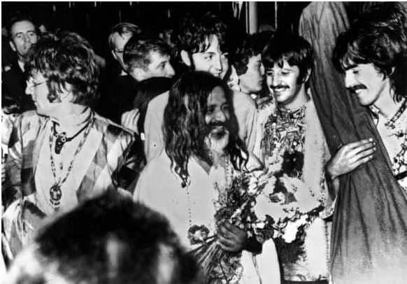 beatles maharishi 1