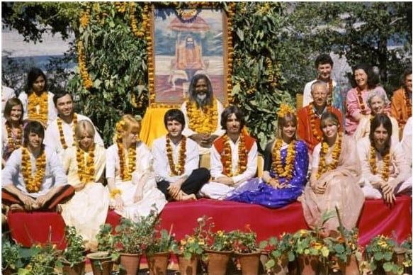 beatles maharishi 2