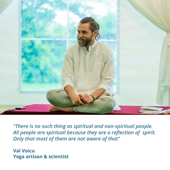 Val Voicu - Yoga artisan & scientist Hatha Yoga SEVA